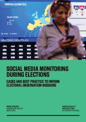 Social Media Monitoring During Elections: Cases and Best Practice to Inform Electoral Observation Missions
